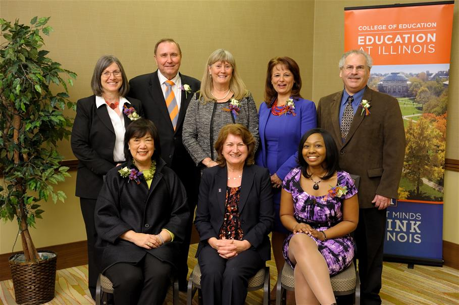 2015 College of Education award recipients