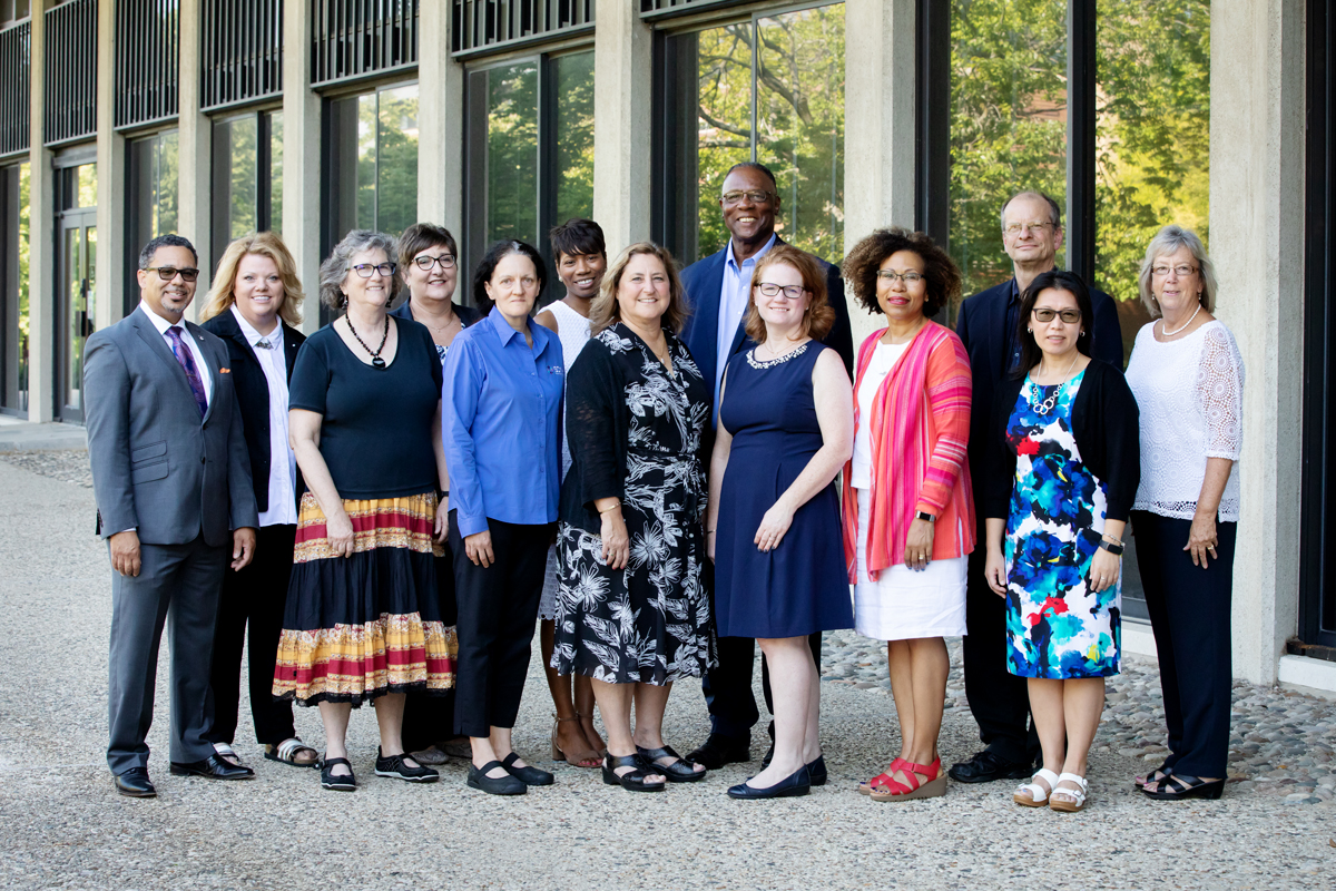 College of Education leadership team