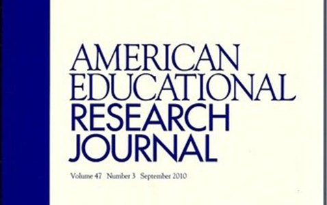 american educational research journal named among top ten cited rh education illinois edu Eric Harris Eric Decker