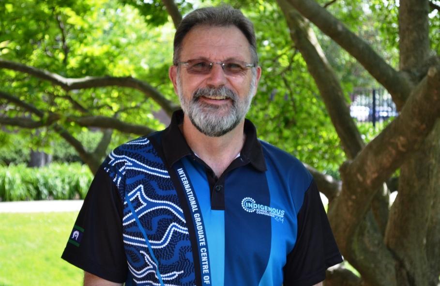 Fulbright recipient Peter Kell