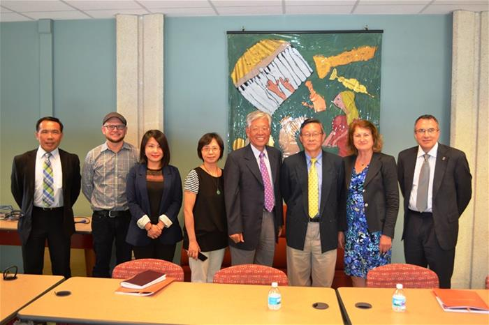 Group from Taiwan visits College of Education