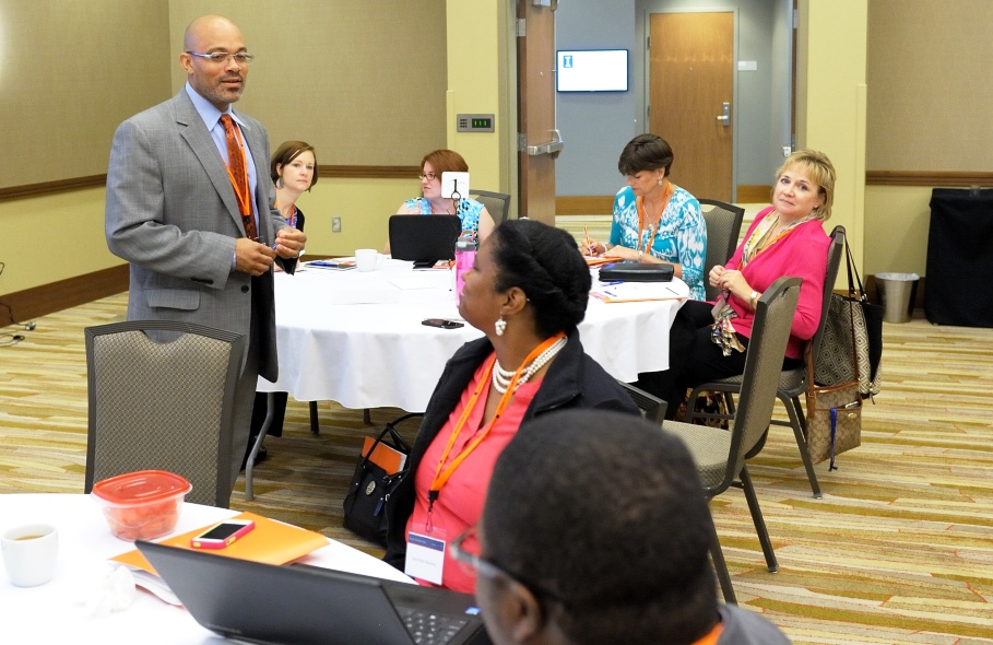 James Gallaher at an Executive Leadership Academy workshop