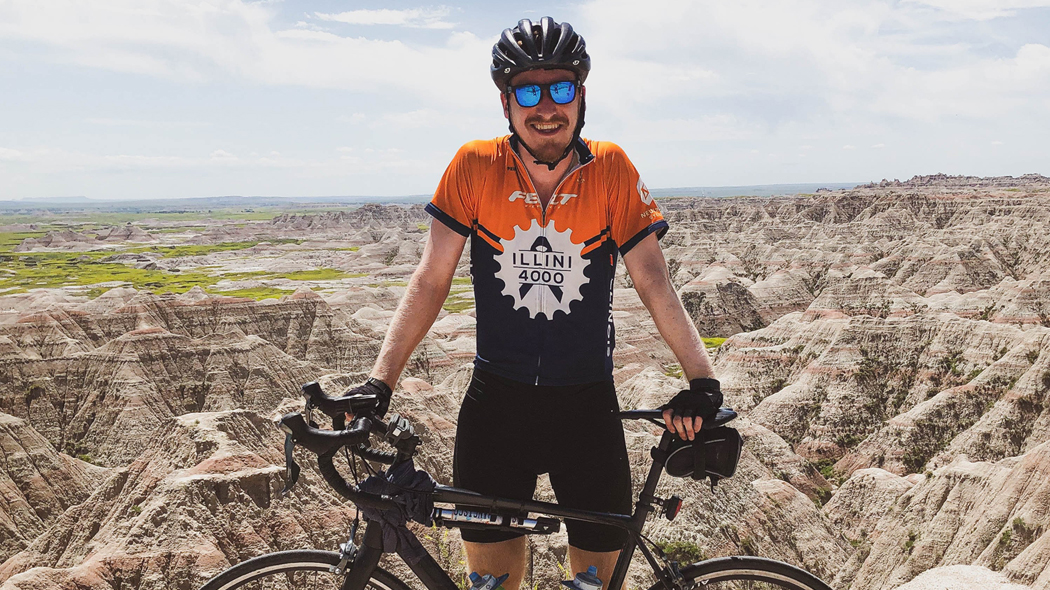 Bike Across America with the Illini 4000